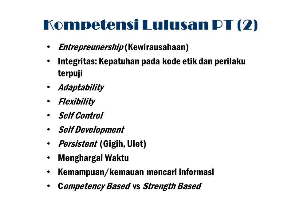 Kompetensi Lulusan PT (2)