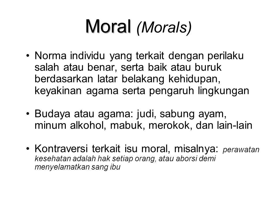 Moral (Morals)