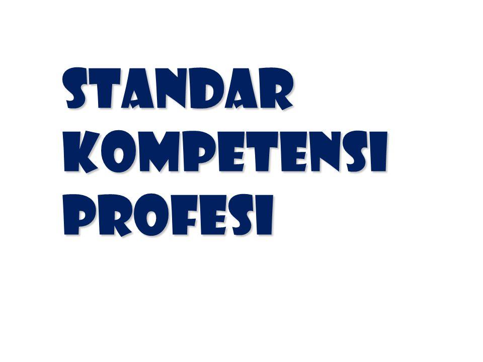 Standar Kompetensi Profesi