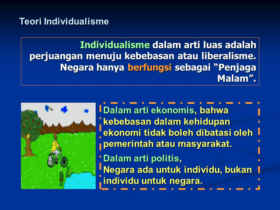 Teori Individualisme