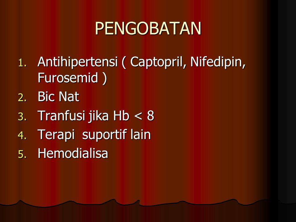 PENGOBATAN Antihipertensi ( Captopril, Nifedipin, Furosemid ) Bic Nat