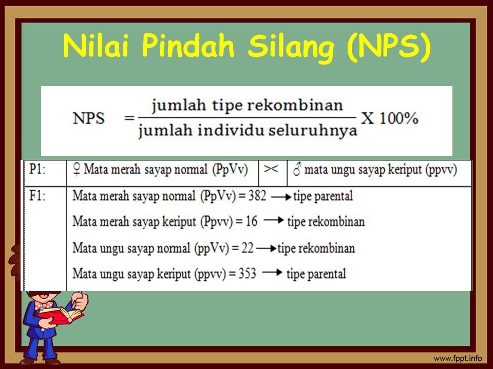 Nilai Pindah Silang (NPS)