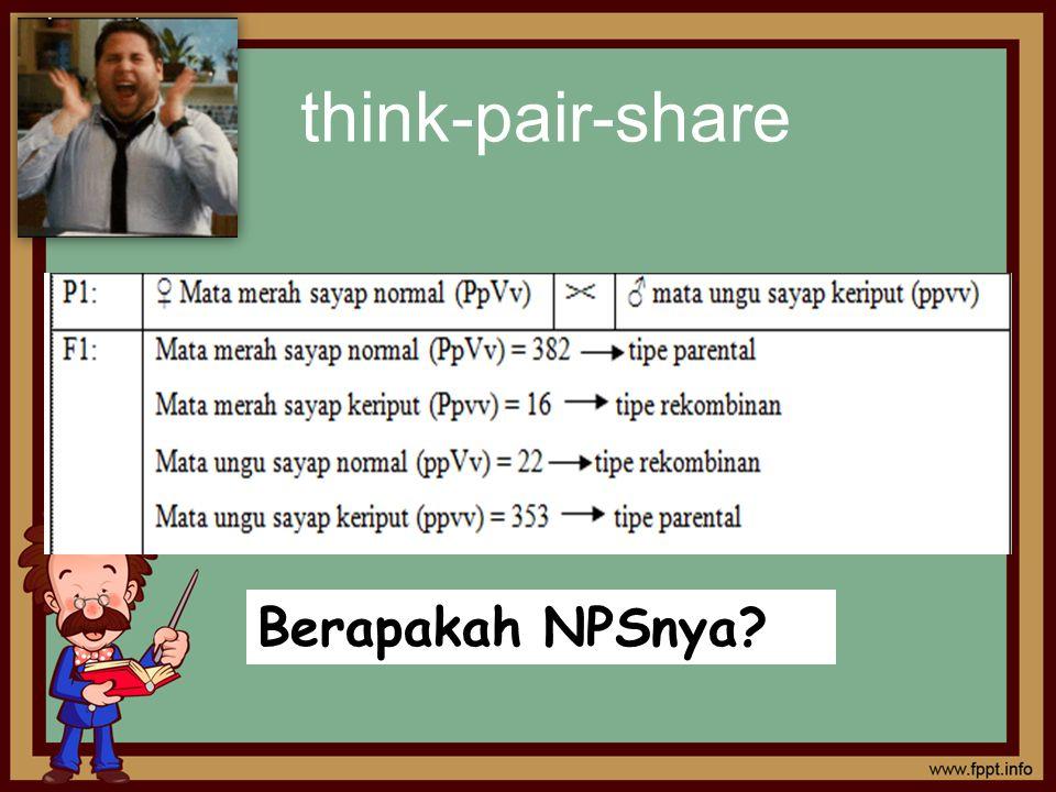 think-pair-share Berapakah NPSnya