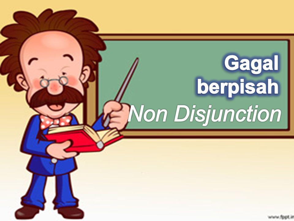 Gagal berpisah Non Disjunction