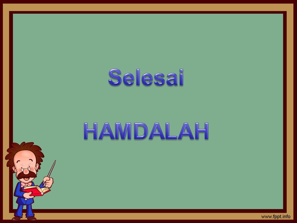 Selesai HAMDALAH