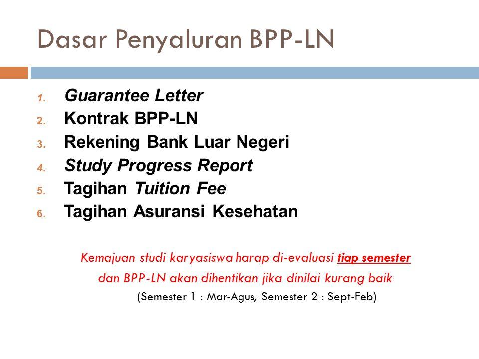 Dasar Penyaluran BPP-LN