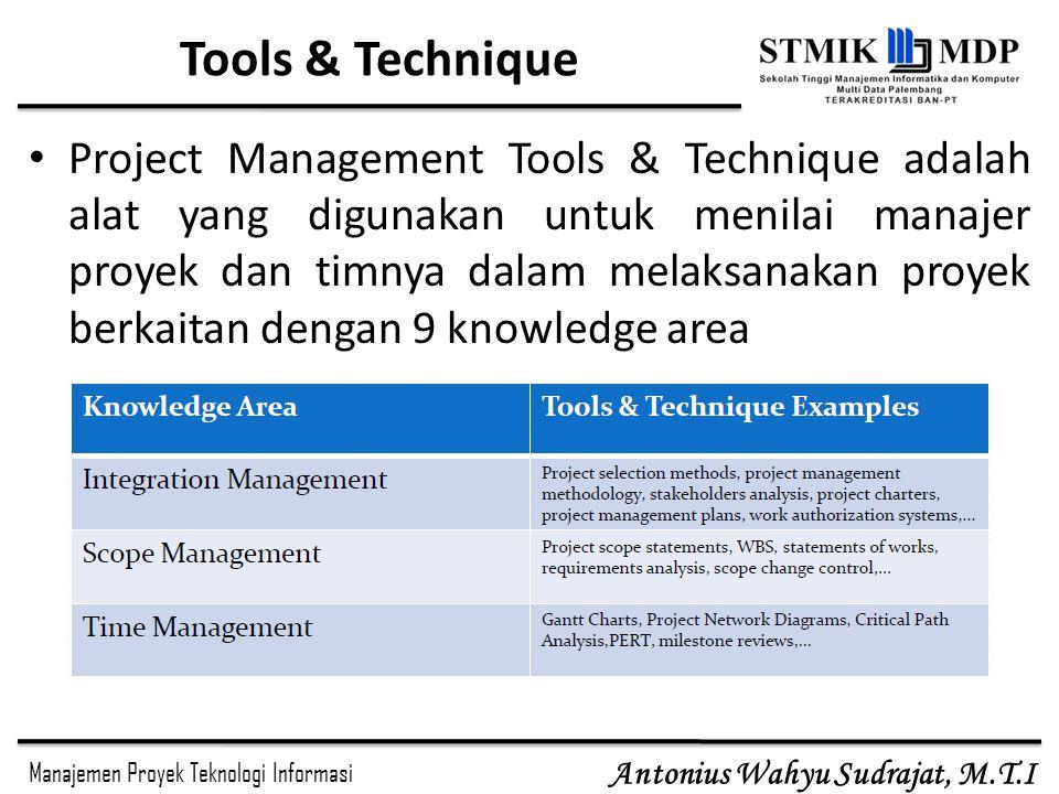 Tools & Technique