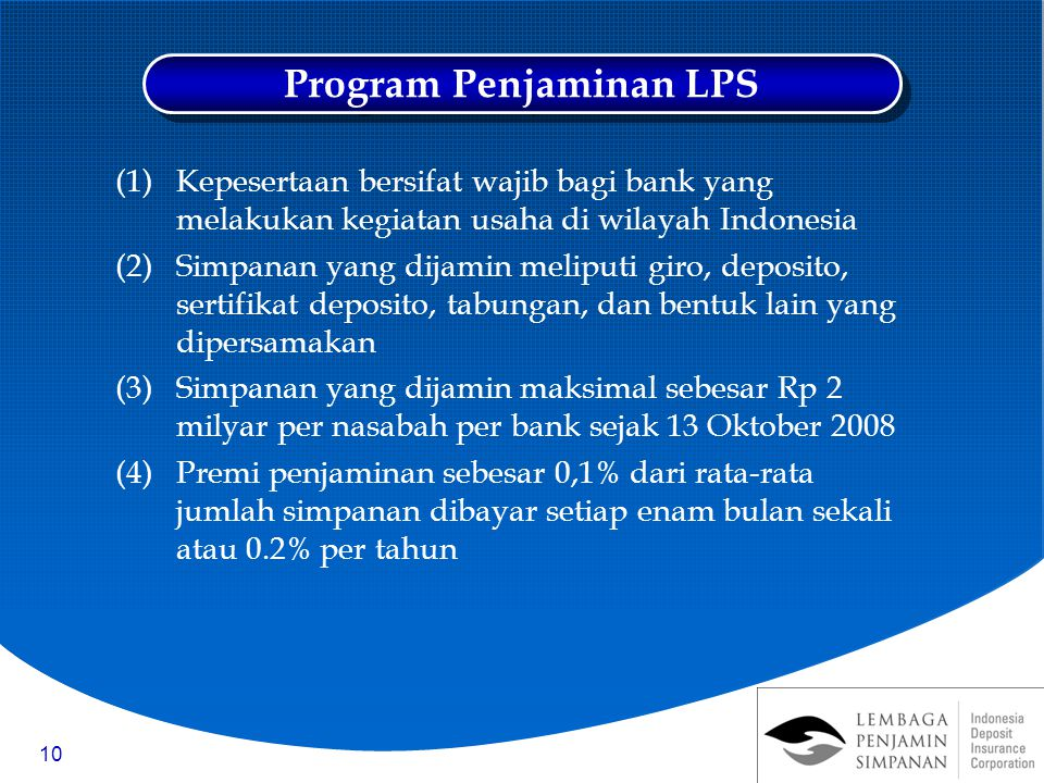 Program Penjaminan LPS