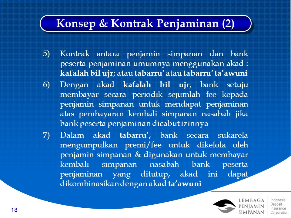 Konsep & Kontrak Penjaminan (2)