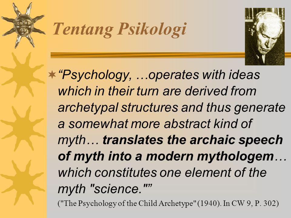 Tentang Psikologi
