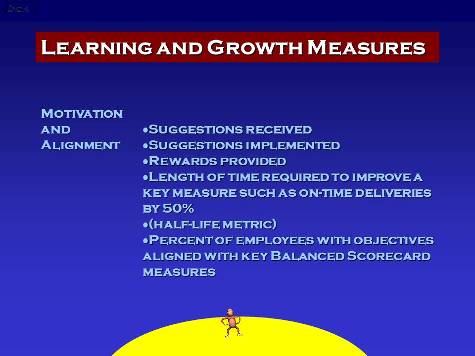 Learning and Growth Measures