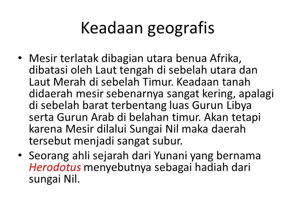 Keadaan geografis