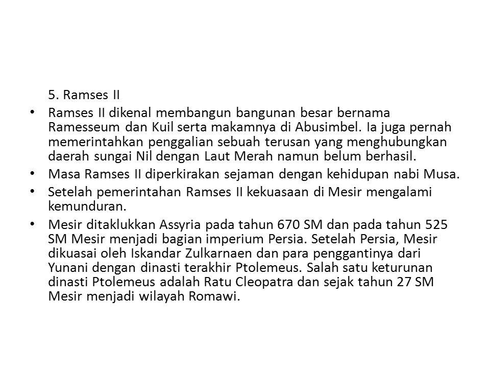 5. Ramses II
