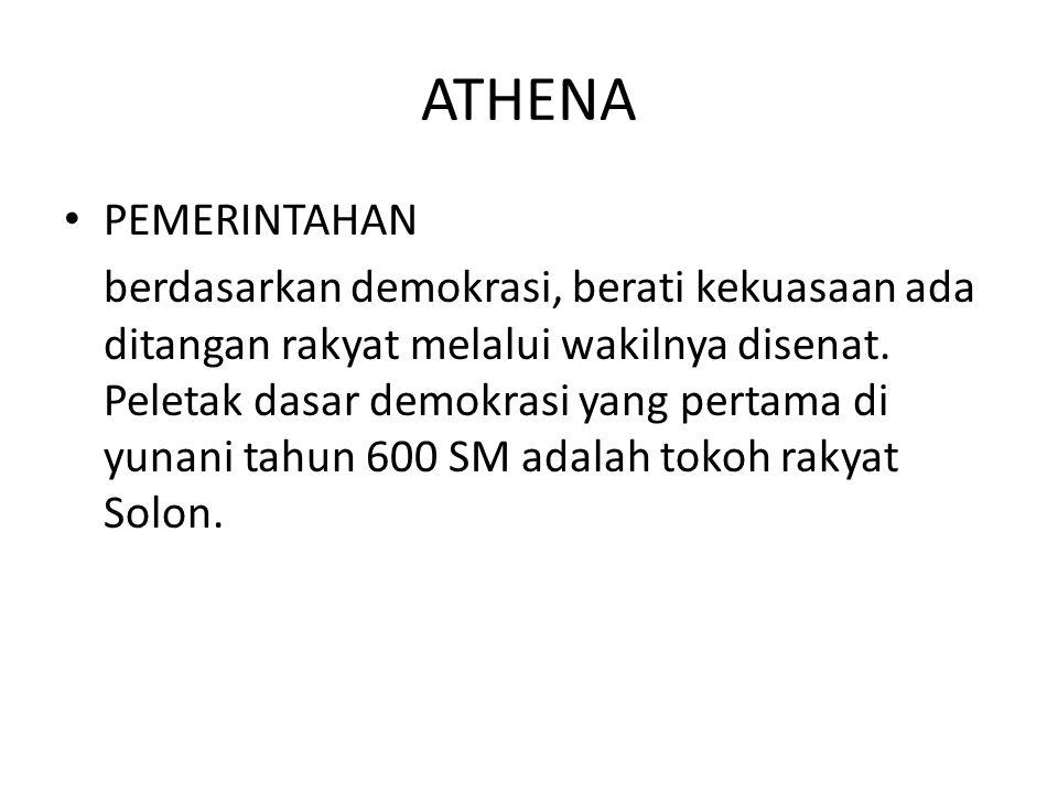 ATHENA PEMERINTAHAN.