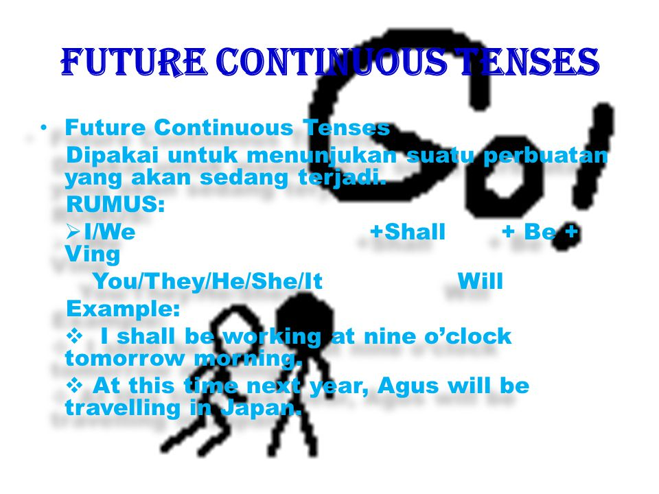 FUTURE CONTINUOUS TENSES
