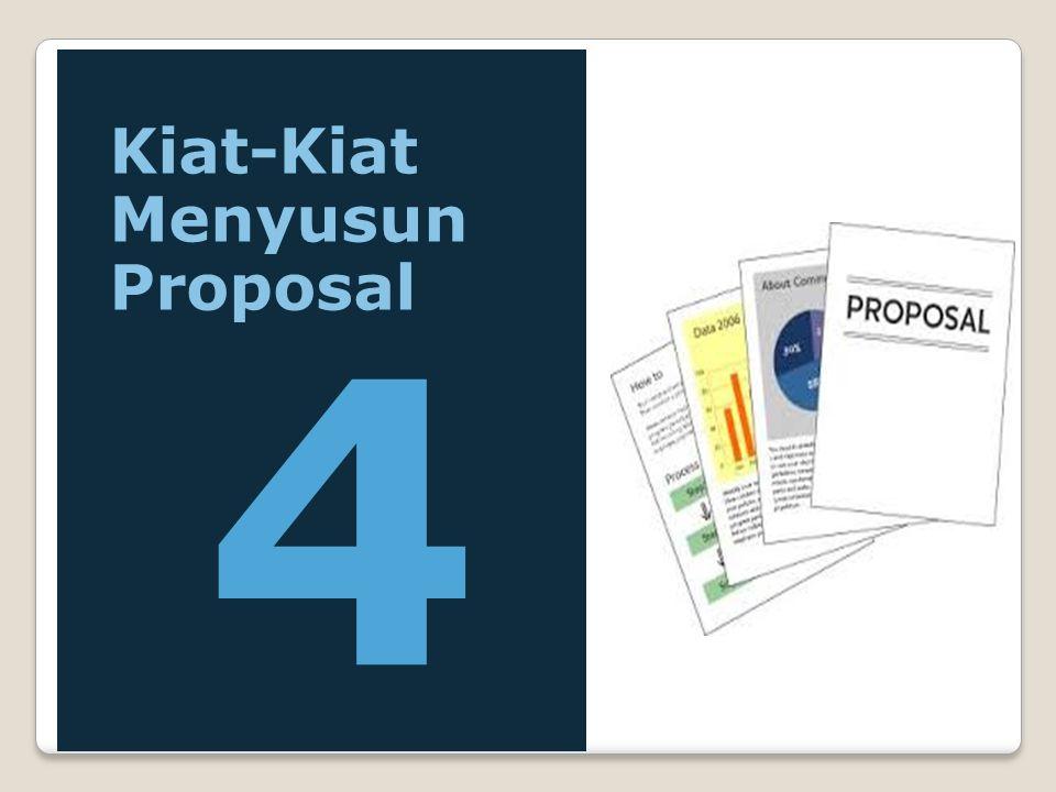 Kiat-Kiat Menyusun Proposal