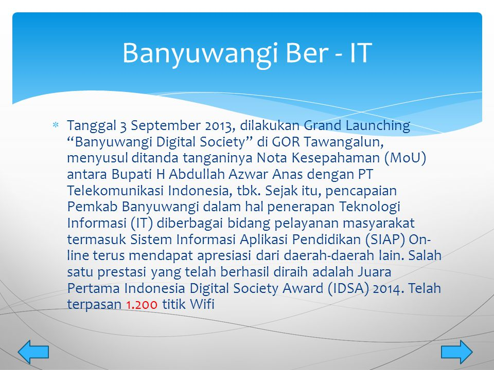 Banyuwangi Ber - IT