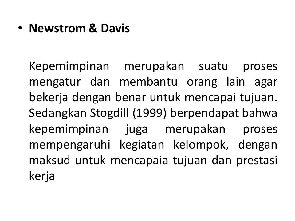 Newstrom & Davis