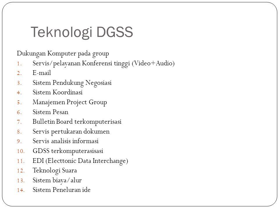 Teknologi DGSS Dukungan Komputer pada group