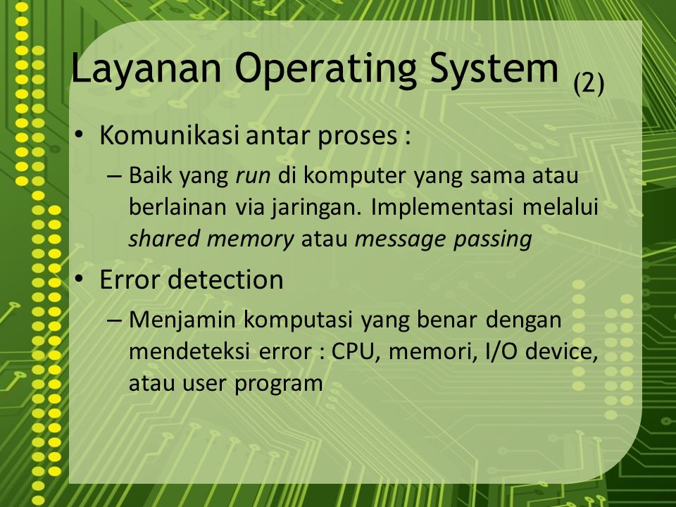 Layanan Operating System (2)
