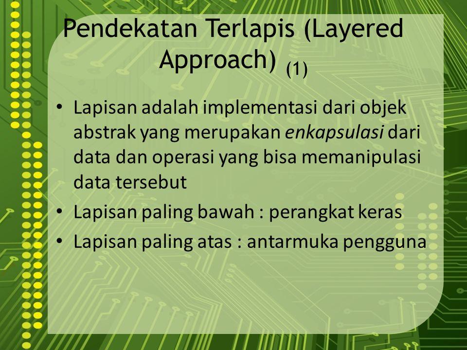 Pendekatan Terlapis (Layered Approach) (1)