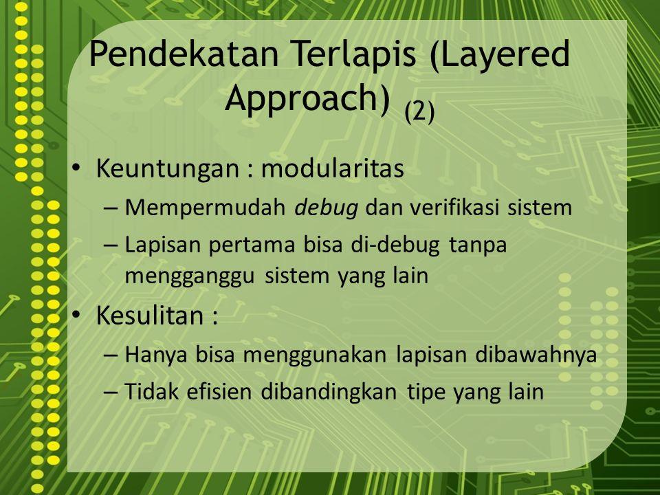 Pendekatan Terlapis (Layered Approach) (2)