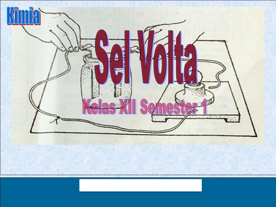 Kimia Sel Volta Kelas XII Semester 1