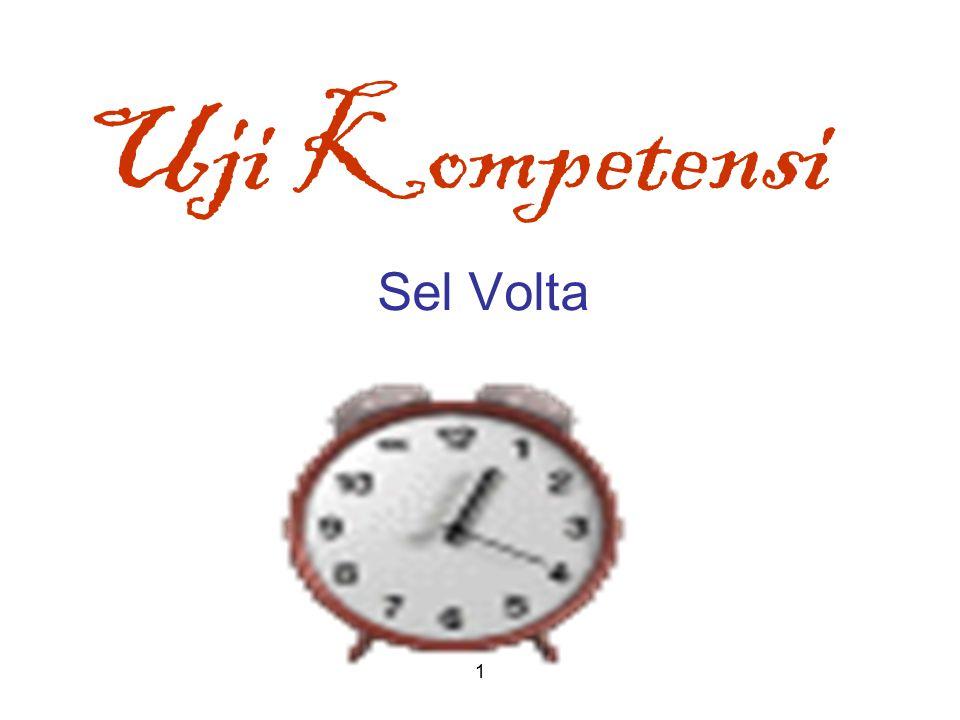 Uji Kompetensi Sel Volta 1