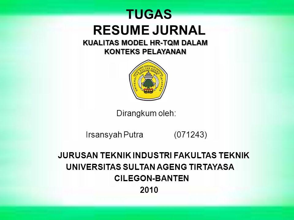 Dirangkum oleh: Irsansyah Putra (071243)