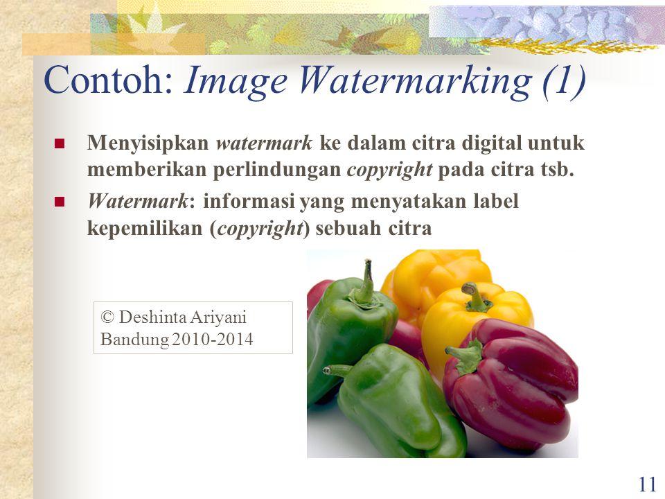 Contoh: Image Watermarking (1)