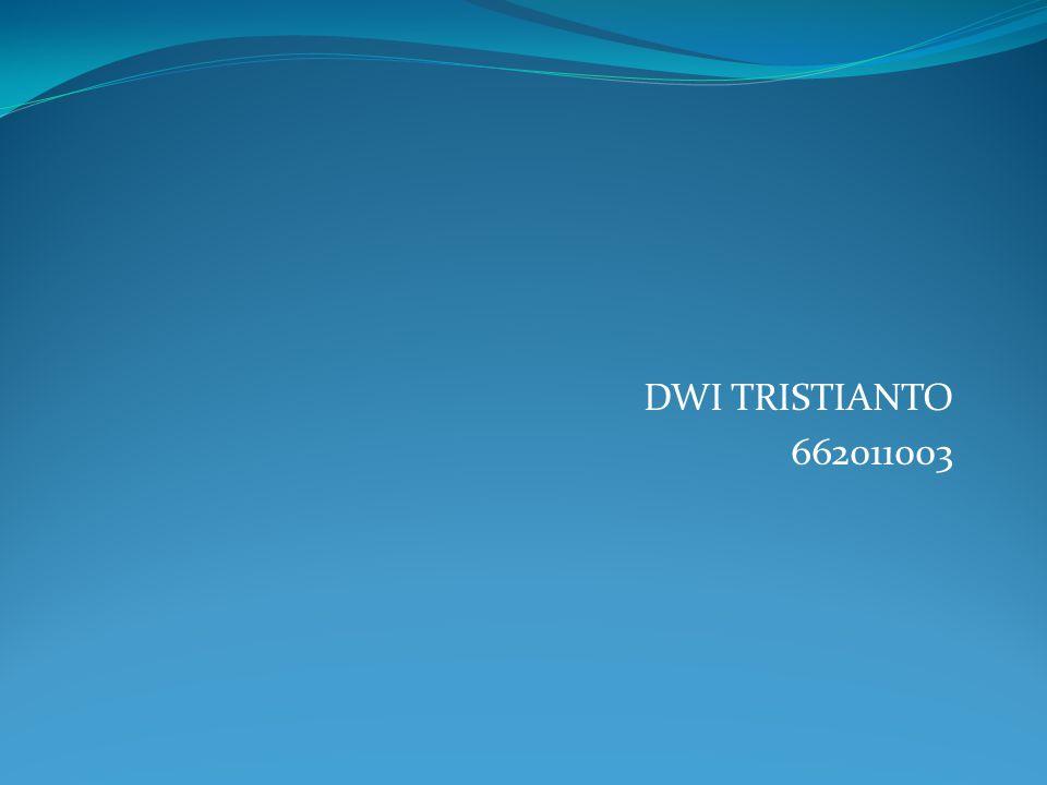 DWI TRISTIANTO 662011003