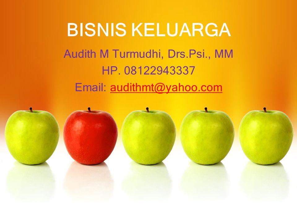 Audith M Turmudhi, Drs.Psi., MM