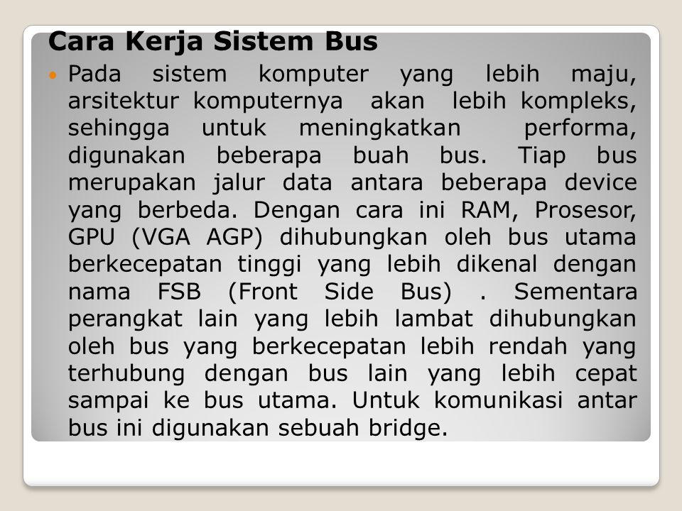 Cara Kerja Sistem Bus
