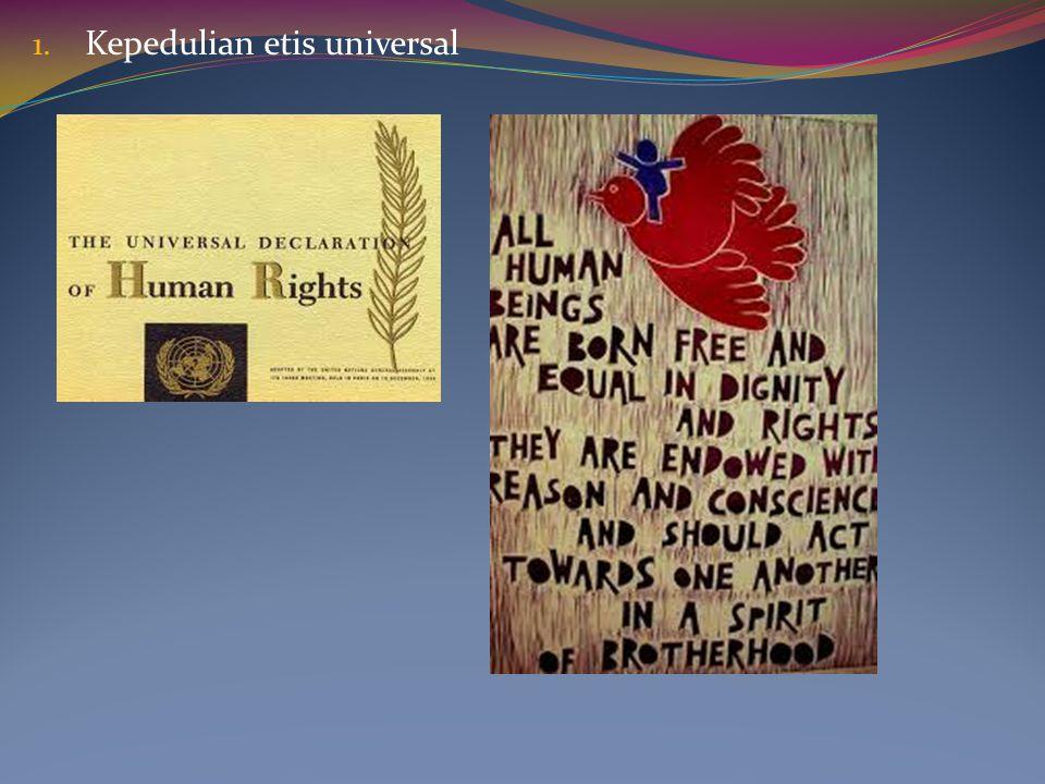 Kepedulian etis universal