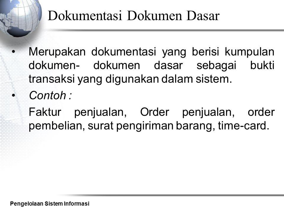 Dokumentasi Dokumen Dasar