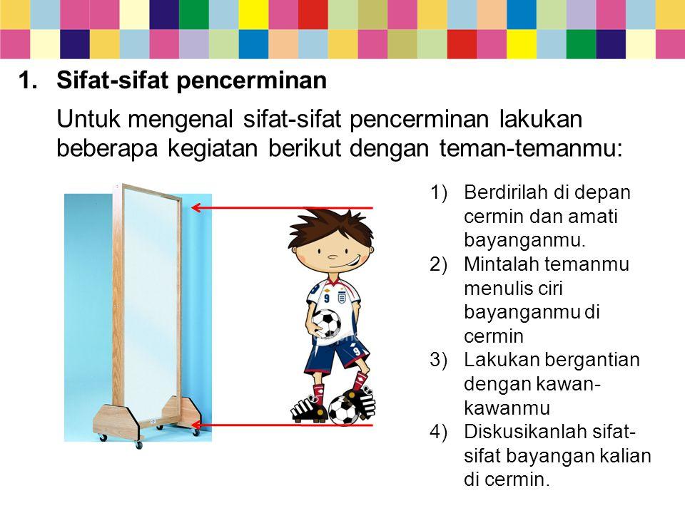 Sifat-sifat pencerminan