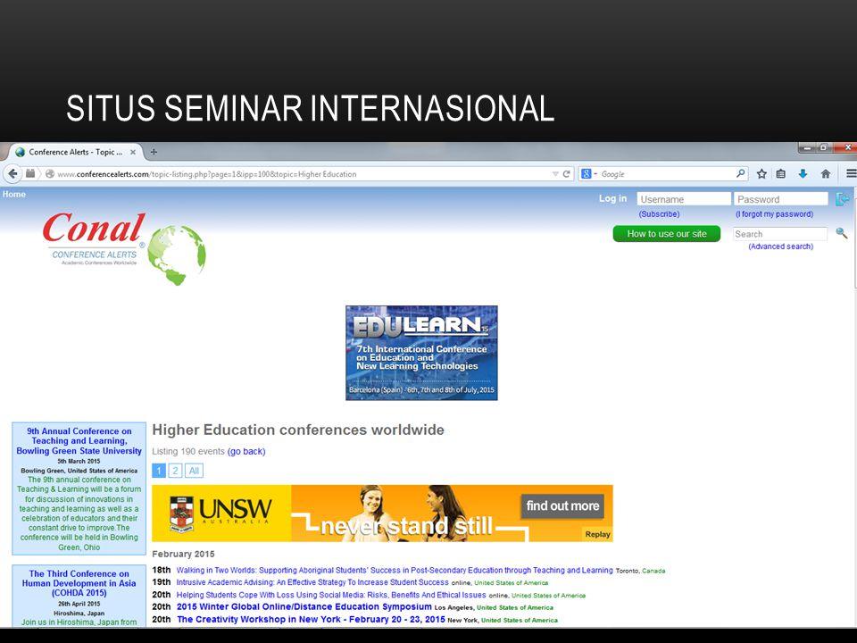 situs seminar internasional