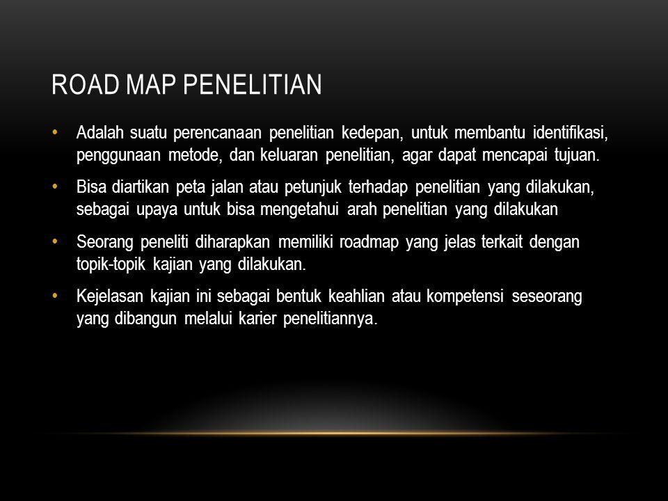 Road map penelitian