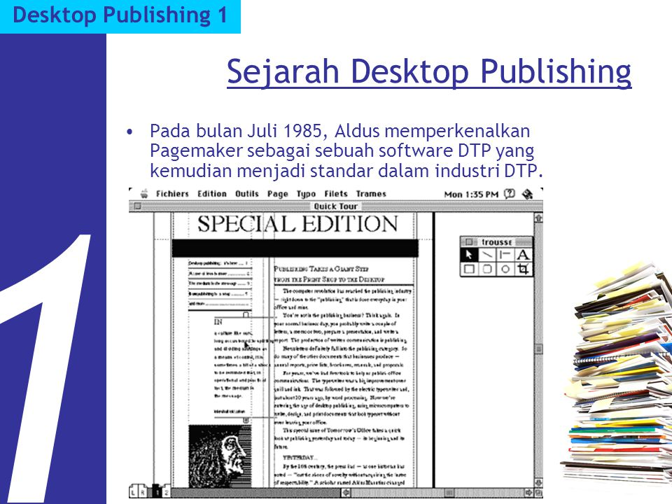 Sejarah Desktop Publishing