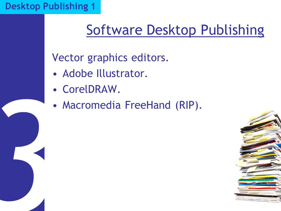 Software Desktop Publishing