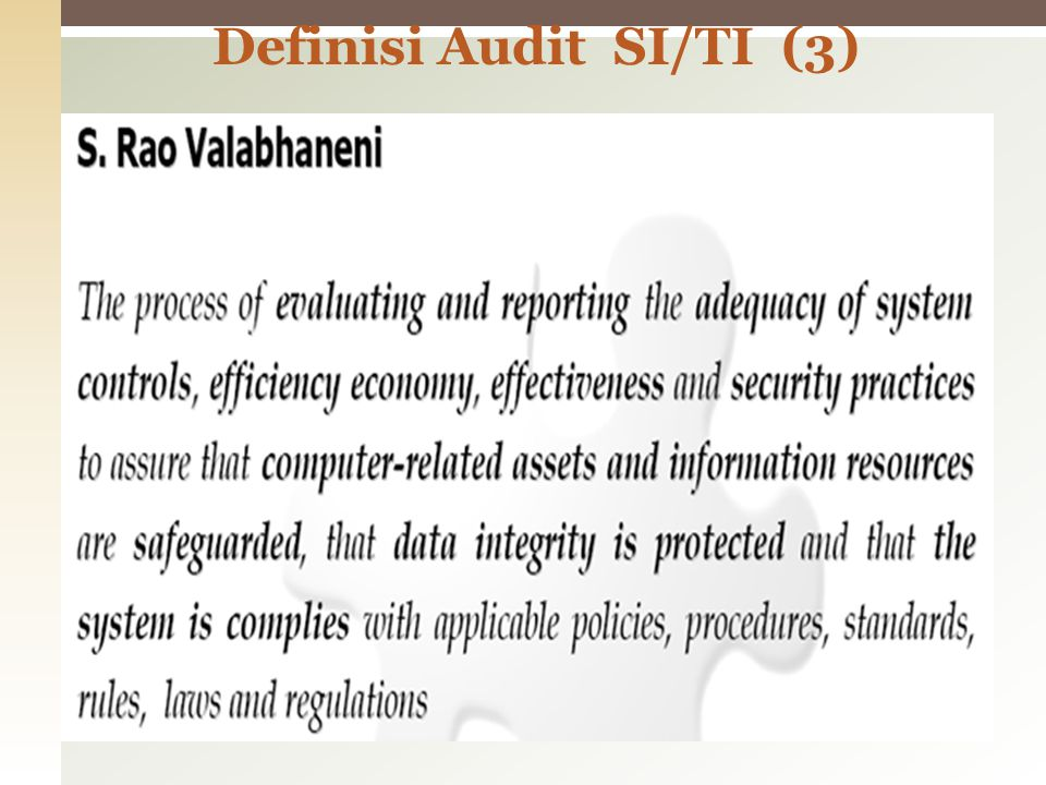 Definisi Audit SI/TI (3)