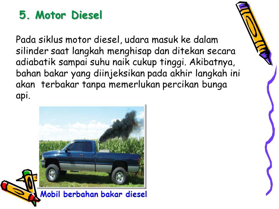 5. Motor Diesel