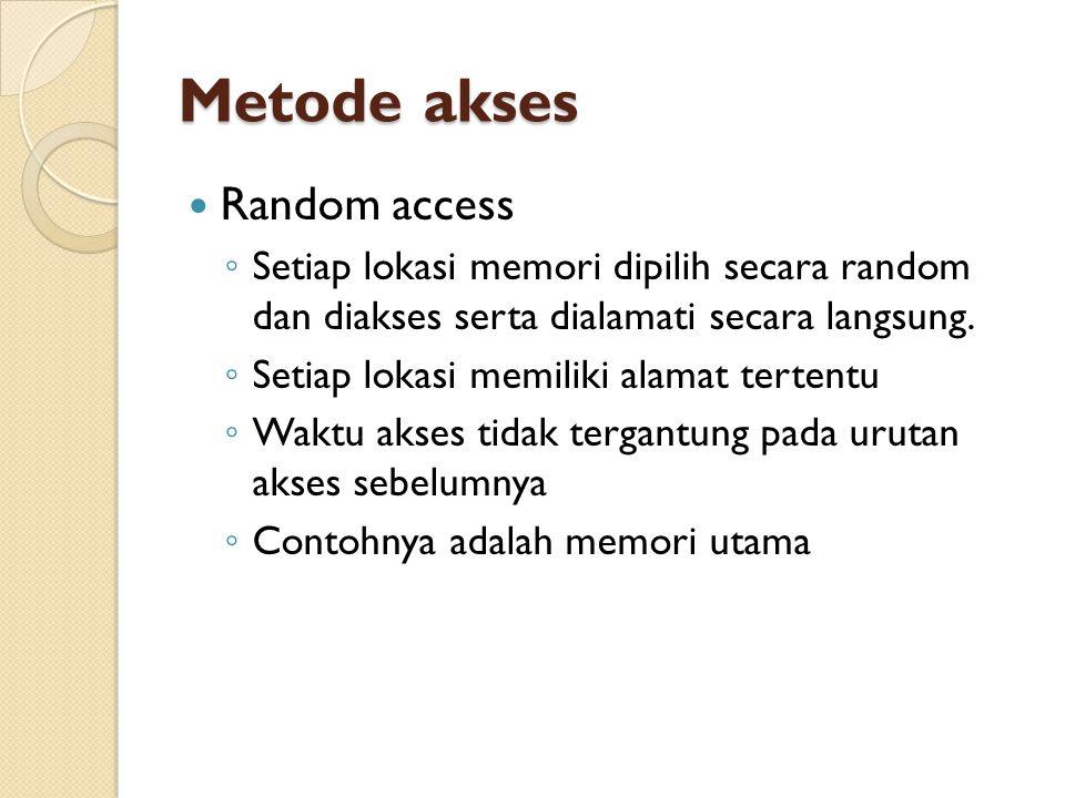 Metode akses Random access