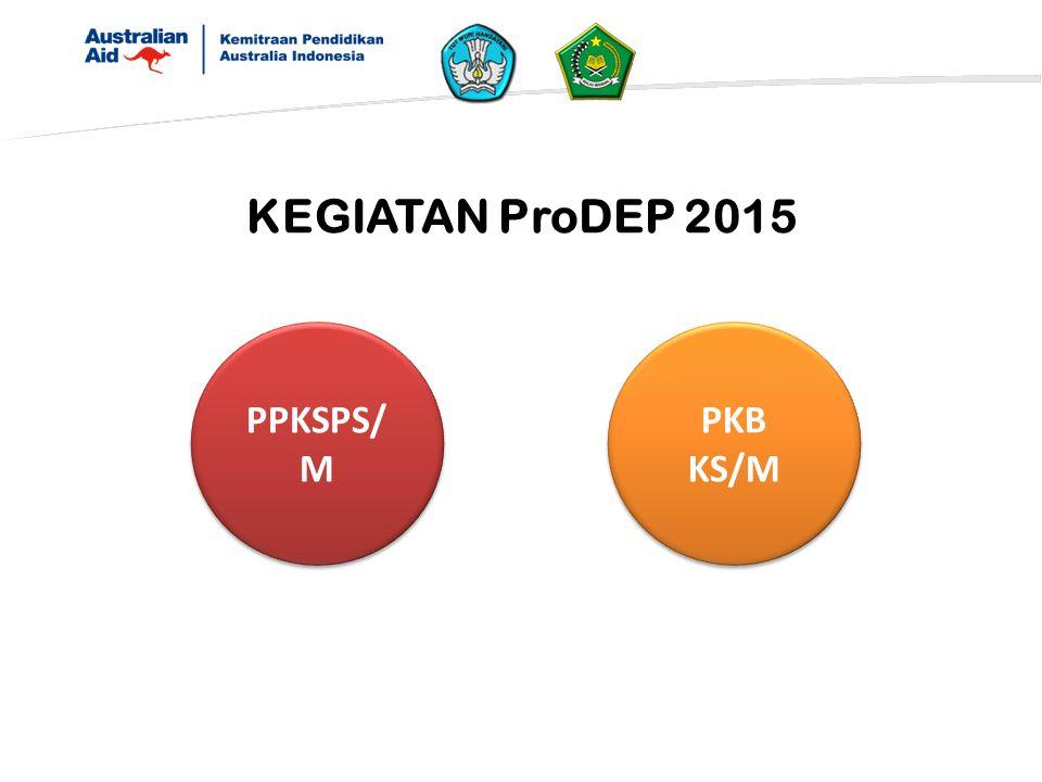 KEGIATAN ProDEP 2015 PPKSPS/M PKB KS/M