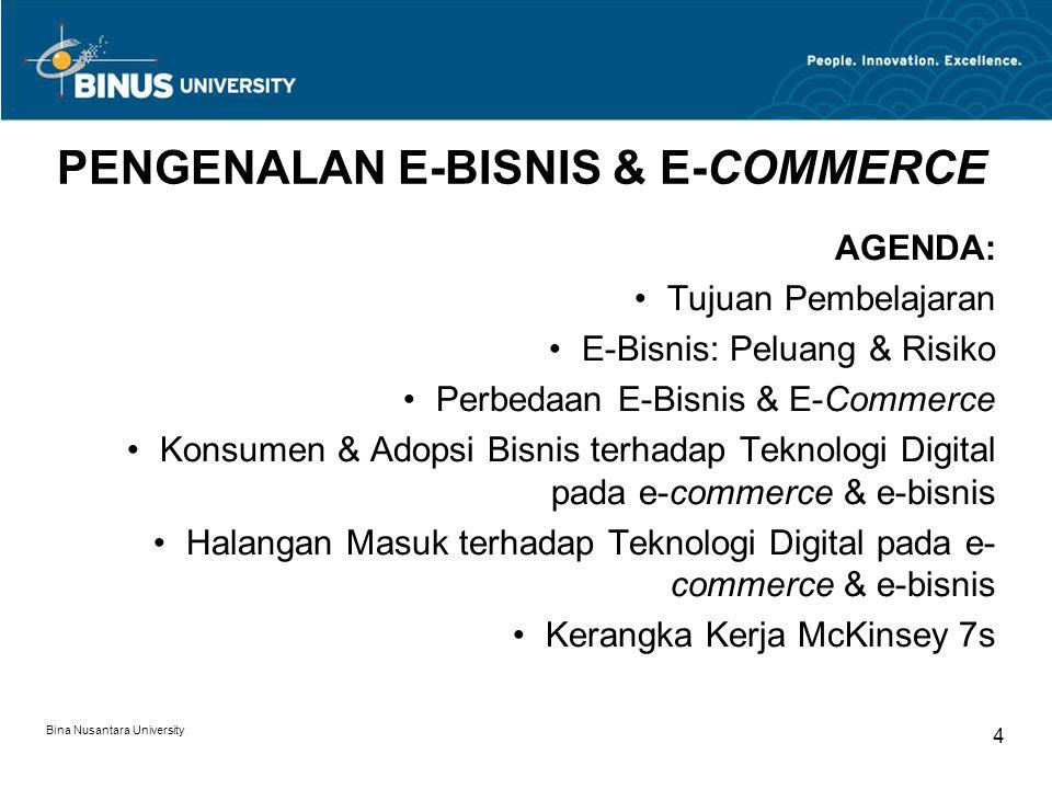 PENGENALAN E-BISNIS & E-COMMERCE