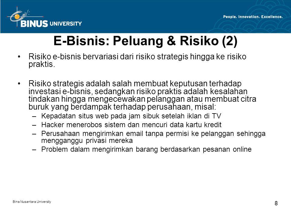 E-Bisnis: Peluang & Risiko (2)