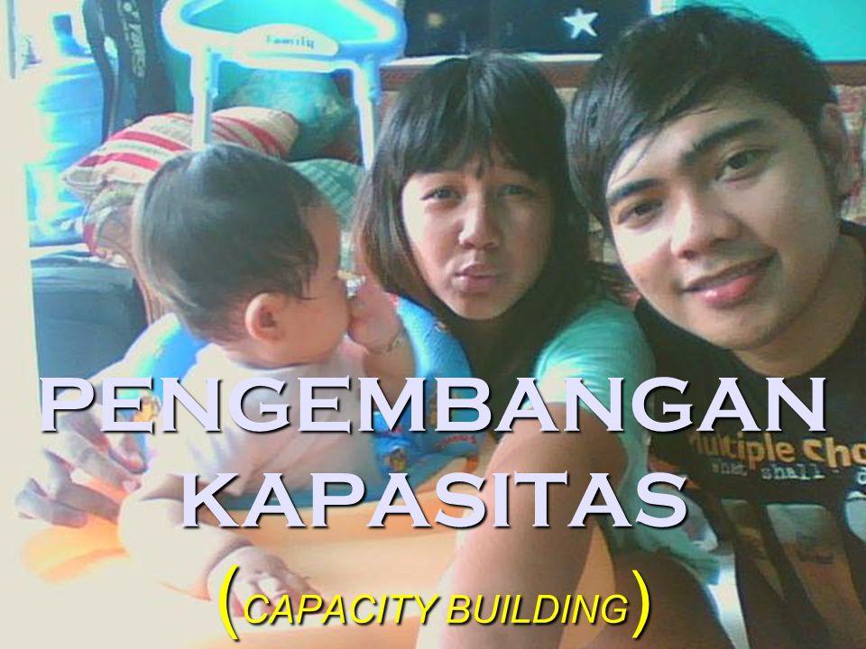 PENGEMBANGAN KAPASITAS (CAPACITY BUILDING)