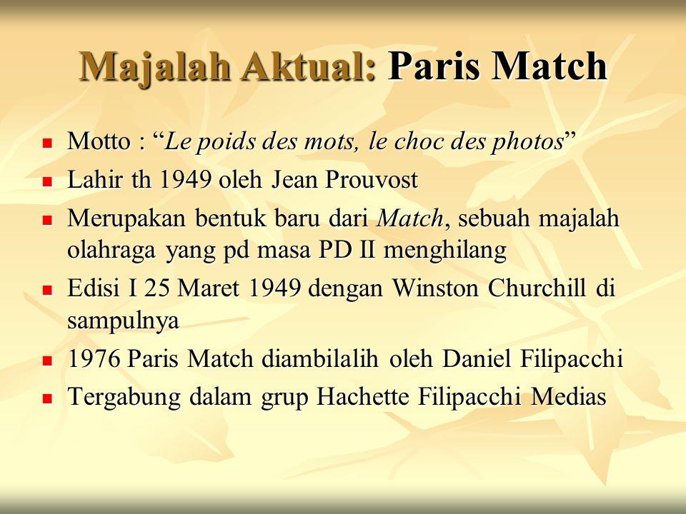 Majalah Aktual: Paris Match