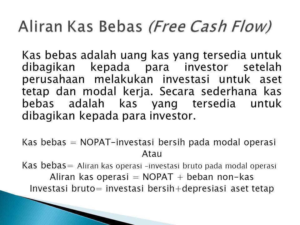 Aliran Kas Bebas (Free Cash Flow)