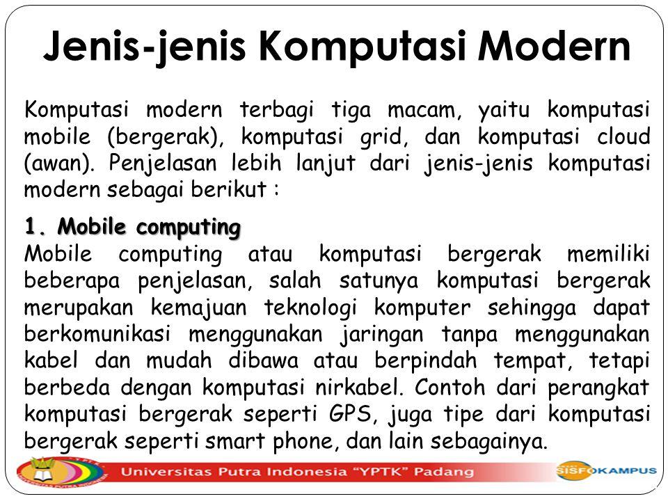 Jenis-jenis Komputasi Modern